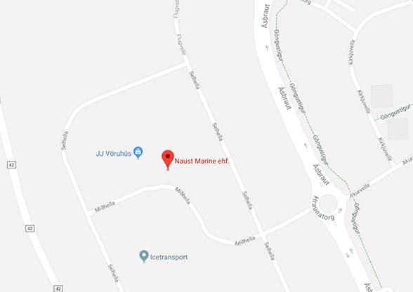 Locations - Naust Marine